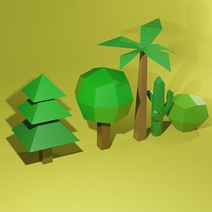 trees mobile 3D