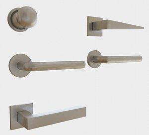 door handle 3D