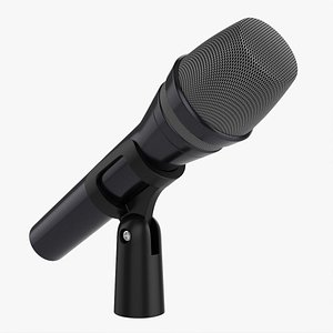 3D model Vocal microphone 02