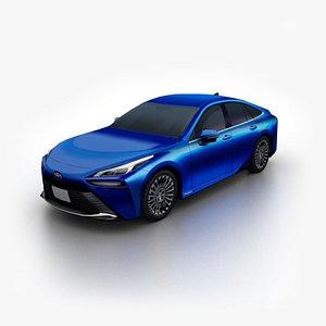 toyota mirai 2021 3D model