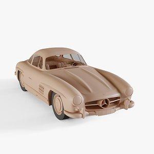1954 Mercedes-Benz SL300 Gullwing model