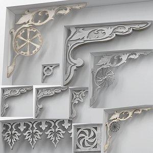 brackets molding model
