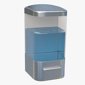 Photorealistic Wall Soap Dispenser 3D