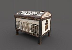 egyptic chest 3D model