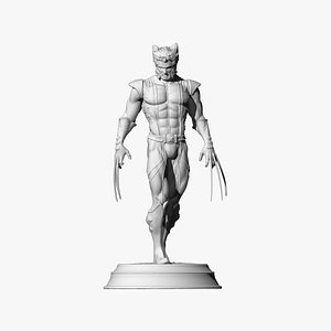 3D model Weapon-X Wolverine