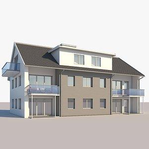 building apartment furniture 3D