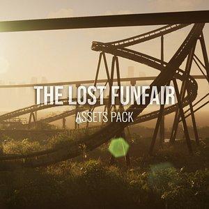 lost funfair - asset 3D model
