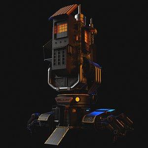 3D steampunk technology