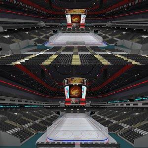 3D model Ice Hockey Arena