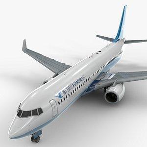 boeing 737-8 xiamen air model