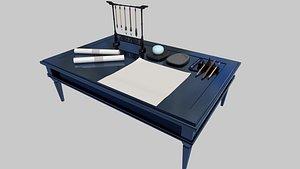 desk20211007 3D model