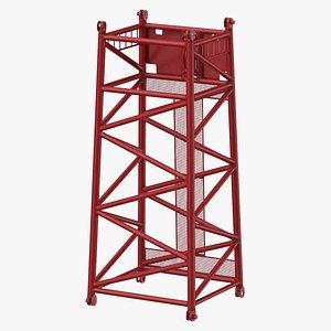 3D crane sl reducing section model