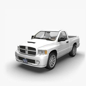 2002 Dodge Ram SRT10 3D model