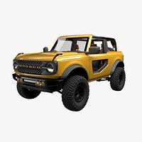 Concept Bronco 2 Door 2021  Model
