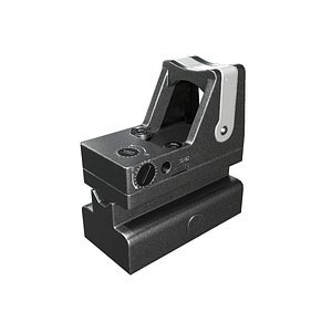 3D model scope sight