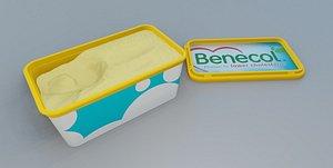 butter tub 3D model