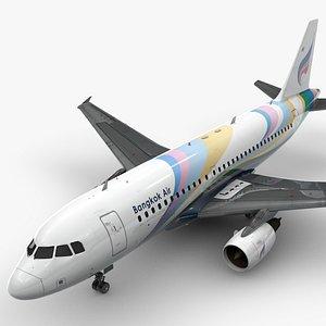 3D AirbusA319-100BANGKOK AirwaysL1411