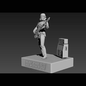 bass starwars 3D model