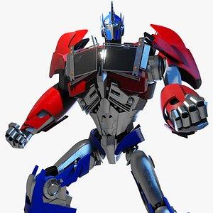 Optimus Prime Transformers Prime 3D model