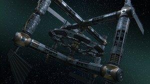 space station variants 3D