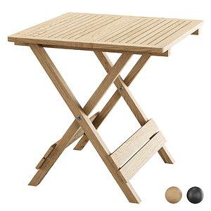 Outdoor Folding Side Table FB11 3D model