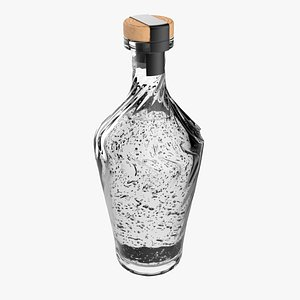bottle glass model