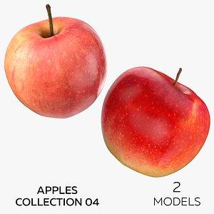 Apples Collection 04 - 2 models 3D model