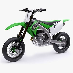 Kawasaki KX450 Supermoto 2019 3D model