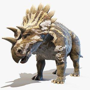 3D Regaliceratops