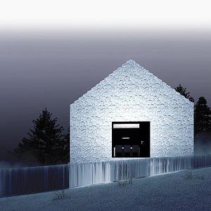 3D house architecture