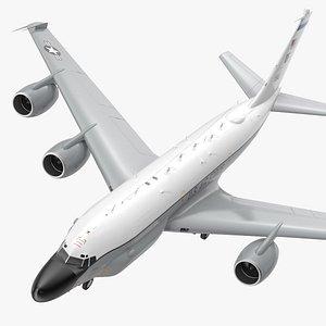 3D Boeing RC-135W Rivet Joint model