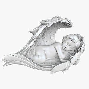 3D model angel baby