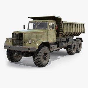 KrAZ-255 Dump Truck model