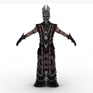 Priest Ober 3D model