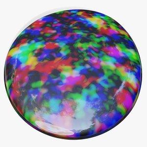 3D Opal Gem model
