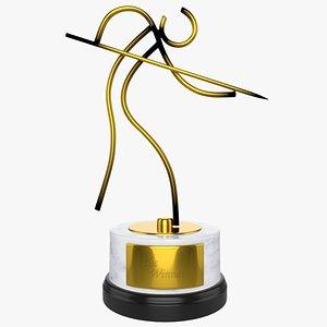 Billiard Trophy 3D model