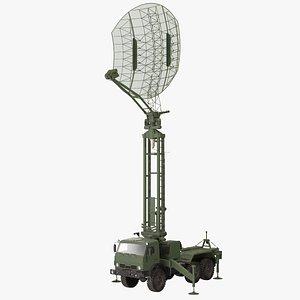 Kasta 2E2 Radar Truck 3D