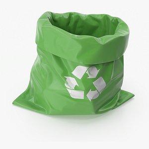 waste bag environmental 3D model