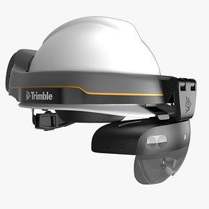 Trimble XR10 with Microsoft Hololens 2 3D
