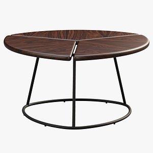 Joybird Monstera Coffee Table 3D model