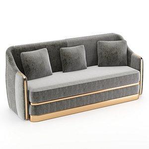 3D model koket sofa