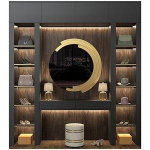 3D closet model