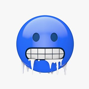 Apple Cold Face 3D model
