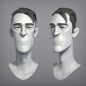 character mouth teeth model