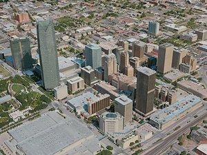oklahoma city 3D