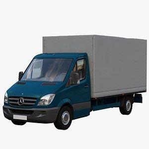 3D sprinter van truck