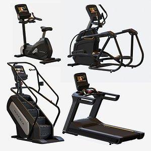 3D Matrix Equipment  Exercise Gym model