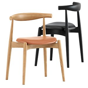 ch20 elbow chair 3D