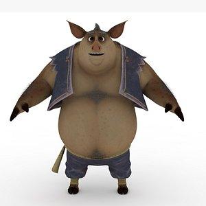 Pig monster 3D