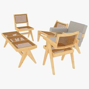 cassina seating 3D model